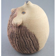 Hedgehog Puzzle Spice Shaker (Ryan McCullen) Tags: animal wildlife wild salt spice sugar puzzle shaker humid humidity clay ceramic stoneware pottery sculpture handmade wheel wheelthrown hedgehog hedgie functional kitchen home profile indoor