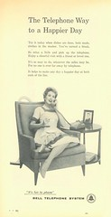 1958-Woman's Day (File Photo Digital Archive) Tags: 1950s 50s 1958 58 advertising vintage womansday portrait people indoor text writing monochrome poster