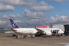Boeing 787-8 SP-LRD LOT 20160922 Warsaw (steam60163) Tags: boeing787 dreamliner warsaw lot