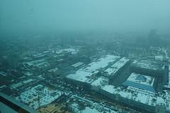 A la fentre (8pl) Tags: ville moscou moscow neige hiver vueplongeante brouillard hauteur toits