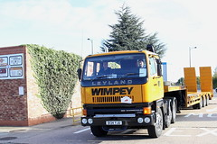 Leyland 320 6x2 George Wimpey Plant Transporter D134YJU Frank Hilton IMG_9232 (Frank Hilton.) Tags: erf foden atkinson ford albion leyland bedford classic truck lorry bus car