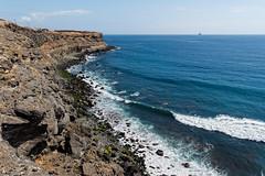 Malpaso (stereocallo) Tags: malpaso telde grancanaria costa acantilados rocas mar