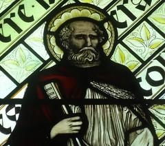 [45609] St Editha, Tamworth : St Peter (Budby) Tags: tamworth staffordshire church window stainedglass preraphaelite