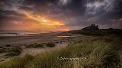 Bamburgh Dunes (baldridge1271) Tags: bamburghcastle beach northumberland northeast england dunes dawn seascape sea sunrise clouds coast bphotographyuk