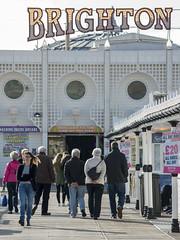Brighton Pier (grahambrown1965) Tags: brighton pier brightonpier palacepier sussex pentaxk5iis pentax k5iis 55300mm hdpentaxda55300mmf458ed hdpentaxda55300mmf458edwr