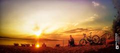 I love sunset with my GoPro...... (Tubus112) Tags: daskleinefotostudio landschaft sonne himmel outdoor 2016 emtb natur summerfeeling sonnenschein gopro menschen sky blick harmonie sunset sommer sonnenuntergang