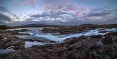 Rocky riverbed (Kari Siren) Tags: river rock rapid flow laponia stora sjfallet national park sweden