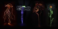 Dibujos de luz (Antonio Martnez Toms) Tags: caligrafa manoalzada dibujosdeluz lightpainting pinturadeluz