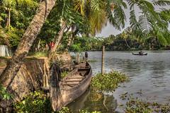 Kerala Backwaters (D-W-J-S) Tags: india kerala backwaters boat