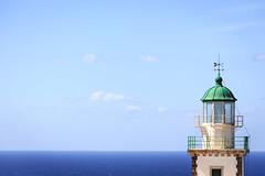 Leuchtturm (Andie Wandsch) Tags: sea meer blauer himmel blue sky    leuchtturm lighthouse santorini akrotiri
