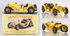 MBY-07-Mercer-Yellow (adrianz toyz) Tags: matchbox yesteryear diecast toy model car y7 mercer raceabout type 35j 1913 146 scale