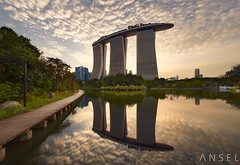 SetSail (draken413o) Tags: singapore marina bay sands architecture urban structure buildings places scenes sunset clouds epic light reflection asia travel destinations wow amazing