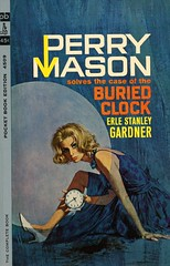 Pocket Books 4509 - Erle Stanley Gardner - The Case of the Buried Clock (swallace99) Tags: pocketbooks vintage 60s perrymason murder mystery paperback robertmcginnis