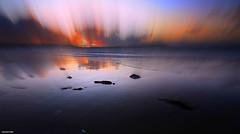 Comme un Incendie.... (crozgat29) Tags: jmfaure crozgat29 canon sigma sea sky seascape sunset paysage nature mer ciel plage beach