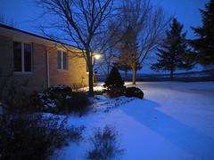 twilight walk (6) (Ange 29) Tags: trees light house canada garden twilight king shadows lawn olympus township omd em1 zd 1435mm