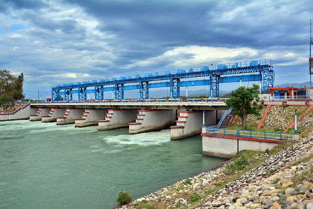 India - Uttarakhand - Haridwar - River Ganges Dam Wall - 2