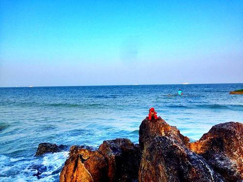 Hua Hin beach and......