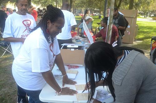 World AIDS Day 2014: USA - St. Petersburg, FL