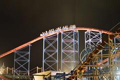 Illuminated Coasters (CoasterMadMatt) Tags: november autumn england max west english beach up car night train dark season fun phot