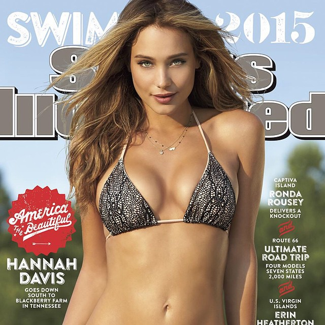 Get to Know Sports Illustrated Swimsuit Edition Cover Model HANNAH DAVIS http://buff.ly/1vuWu3W