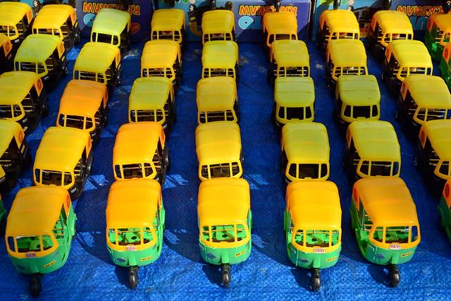 India - Kerala - Fort Cochin - Tuk Tuk Toys