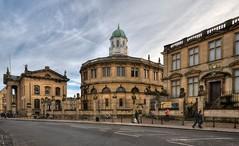 Broad Street, Oxford (Baz Richardson (trying to catch up!)) Tags: oxford oxforduniversity sheldoniantheatre museumofthehistoryofscience clarendonbuilding oldashmoleanbuilding broadstreetoxford