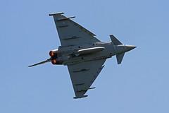 RAF TYPHOON EUROFIGHTER DUXFORD 2012 (toowoomba surfer) Tags: aircraft aviation airshow eurofighter typhoon raf airdisplay