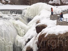 The Great Falls Gorge of the Passaic River, Paterson, New Jersey (jag9889) Tags: park winter usa ice waterfall newjersey unitedstates nps unitedstatesofamerica nj landmark gorge paterson icy nationalparkservice gardenstate icycle 2015 passaicriver nationalregisterofhistoricplaces nrhp passaiccounty patersongreatfalls jag9889 20150221