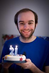 Key of the door (jimbob195) Tags: blue boy cake newcastle jack candles candle decoration tshirt son lad uni celebrate milestone