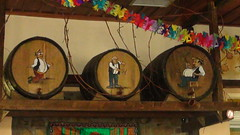 DSC00310 (amalia_mar) Tags: wine barrels greece tavern   aitoloakarnania