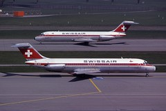 HB-IDP Douglas DC-9-32 Swissair (michael_hibbins) Tags: