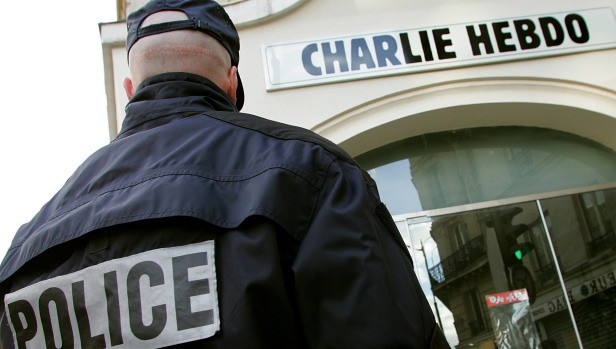 In #Paris, increased security measures. #CharlieHebdo