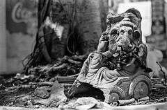 Ganesha (fabbaimages.net) Tags: street leica bw india god delhi divine ganesh r4