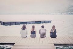 (Manon Duport) Tags: lake annecy film analog 50mm back lac 35mmfilm fujifilm canonae1 canonae1program ponton indiansummer argentique talloires 50mm18 manonduport ilakeannecy