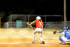 Baseball (annabelle.lucy) Tags: red field baseball 9 batting bunt