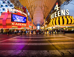 You Can Rely on Me Honey (Thomas Hawk) Tags: vegas usa unitedstates lasvegas nevada unitedstatesofamerica fremontstreetexperience fremontst clarkcounty 4queens fav10 fav25 fremontcasino