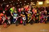 STRIDER Racing at the 2015 USA BMX Silver Dollar Nationals (StriderBikes) Tags: pink boy orange girl yellow us lasvegas nv pro startline bmxtrack groupimages