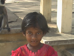 Young Child in Kataragama