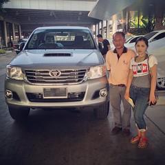 ยินดีต้อนรับ...สู่ครอบครัวโตโยต้า #TOYOTA #เติมความสุข #ทุกสัมผัส การส่งมอบรถยนต์ใหม่ #HILUX #VIGO CHAMP ผู้ครอบครอง คุณชิน ยังท่าโพธิ์ ขอบคุณ...ในความไว้วางใจ ** โปรดตรวจสอบราคา / โปรโมชั่น LINE User ID akkarawat_u | โทรศัพท์ 081-036-3991 #TOYOTA #ขับเคล
