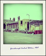 "Gainsborough Central Station ""Poladroid"" (tatrakoda) Tags: old uk england urban history station train geotagged town br britain central railway lincolnshire demolished gainsborough lner gcr poladroid mslr dn21"