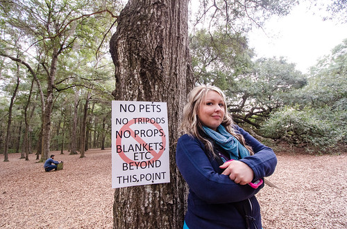 No Pets, No Tripods, No props, etc