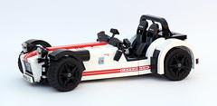 Caterham 7 R500 (bricktrix) Tags: toys lego caterham legocar caterhamseven caterhamr500 caterham7r500 legocaterham caterham620r legocaterham7