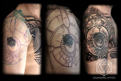 Bio Mechanical CoverUp, Realistic, Black and Grey Tattoo (13.22 Tattoo Studio) Tags: old uk portrait baby moon west flower colour london eye art clock geometric church girl rose closeup tattoo illustration angel skeleton religious foot japanese skull photo artist ship child hummingbird hand veil heart arm mechanical lotus geometry buddha watch fine feather bigben bio superman line xmen batman pharaoh rib script custom handprint sleeve logos compass gentleman pac dreamcatcher realism chicano coverup realistic triforce sourgrapes eygptian blackandgrey s0urgrapes
