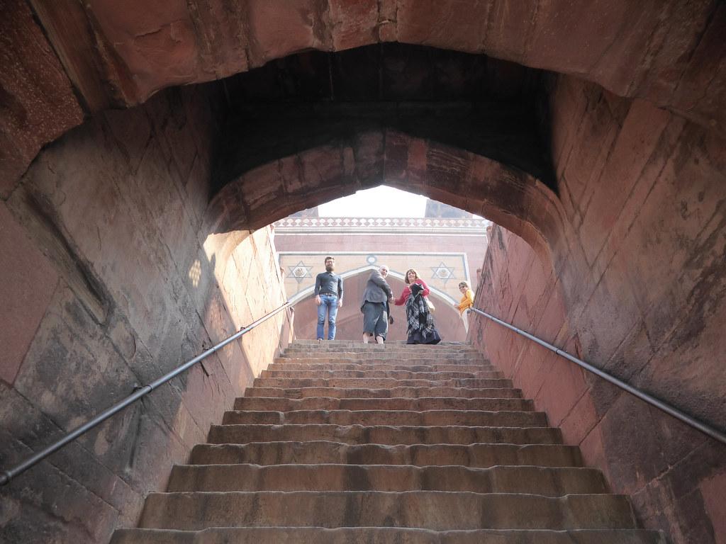 Exploring Humayun's tomb