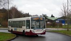 42 at Artington (bobsmithgl100) Tags: bus surrey alexander dennis guildford byo route42 artington enviro200 portsmouthroad gx07 compasstravel gx07byo