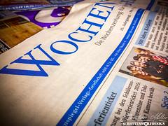 Mehr Werbung als News (SchattenWolfDesign) Tags: papier zeitung wochenspiegel hsnews schattenwolfdesign