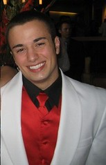 Formal Attire (Simon T. Armstrong) Tags: redtie whitetux formalpicture whitetuxedo enjoyingmyself formalclothing whitetuxredtie smilingbecauseilikeformalgettogethers formalgettogether