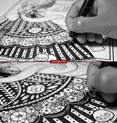 (Anita Mejia) Tags: black illustration pen ink paper mexico anitamejia