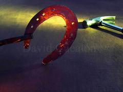 Forging good luck (David Cucaln) Tags: stilllife macro hammer 35mm luces good olympus luck horseshoes bodegon fineartphotography martillo ligths herradura naturalezamuerta 2015 buenasuerte e510 cucalon davidcucalon