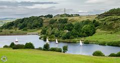 Doe Park Reservoir (Steve Swis) Tags: uk england sailing britain yorkshire july 2012 denholme doeparkreservoir samsungnx20